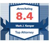 Avvo Top Attorney, Kemper Law