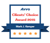 Avvo Clients Choice, Kemper Law